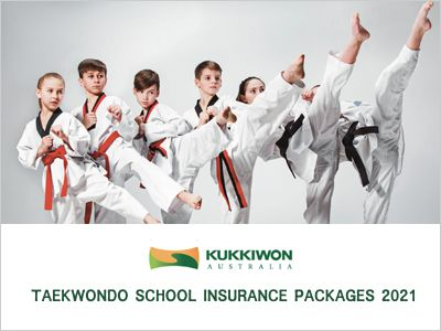 Kukkiwon Insurance Packages 2021